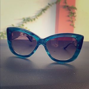 Dita Vesoul Large Cat Eye Sunglasses